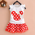 Newborn-3T Baby Toddler Girls Princess Bow Summer Lace A-line Dress outfit