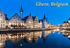 GHENT BELGIUM - Travel Souvenir Fridge Magnet #fm108