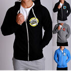 New Mens TRADEMARK thick Fleece Long sleeve gym casual Hoody