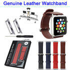 For Apple Watch SPORT 38mm/42mm Genuine Leather Watch Band replacement Strap