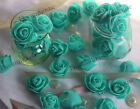 """200 Real Touch Roses Bridal Mini Artificial Flowers Wedding Home Decoration 1"""""""