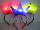 Kids Girl hair Accessories Led light up headband Princess Tiaras Crown Party new