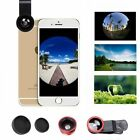 micro lens iphone - 3in1 Fish Eye+Wide Angle+Micro Lens Camera Kit for iPhone 7/Plus Samsung S8 Plus