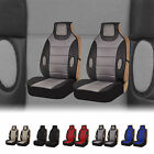FH Group Leatherette Seat Cushion Pads Seat Covers for Cars