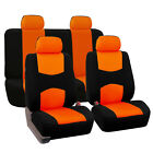 8 Piece Lowback Flat Cloth Full Set Auto Seat Covers <br/> #1 Best Seller on eBay. Over Thousands Sold Top Quality