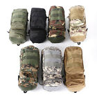 7 colors Select Molle Zipper Camo Water Bottle Utility Medic Pouch w Side Pouch