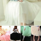 Fashion Soft Womens Girls Ladies Sweet Tutu Dance Fairy Tulle Dress Skirt