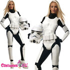 Rubies Ladies Star Wars Stormtrooper Costume Female Storm Trooper Fancy Dress