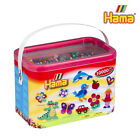 10,000 Hama Beads in Bucket Solid colours