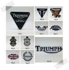 TRIUMPH Sticker Decal Vinyl Motorcycle Motor Racing Waterproof Car Bumper Logo $4.95 USD