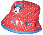 Minnie Mouse Hat Fisherman Style Pretty Polka dot Red Summer Theme 1-3y   4-6y