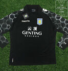Aston Villa Goalkeeper Shirt - Black - Macron Football Shirt - Mens - Large/XL