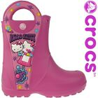 Crocs Creative Hello Kitty Candy Blast Rain Boot Gummistiefel Gr. 23-31