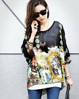 Summer Women Chiffon Blouse Loose Tops Casual Blouse Lady Fashion Shirt Hot Gift