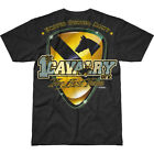 7.62 DESIGN US 1ST CAVALRY FIRST TEAM BATTLESPACE T-SHIRT GRAPHIC ARMY TOP BLACK