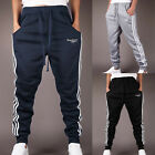 New Men's Harem Pants TRACK PANTS Trousers Gym Slacks Plain Sport Tracksuit Pant