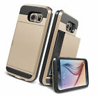 Card Pocket Wallet Slim Case Cover for Samsung Galaxy S6 / S6 Edge S5 S4 Note4 / 3
