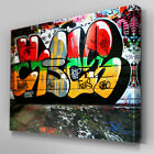 AB105 Street Art Graffiti Canvas Wall Art Ready to Hang Picture Print Large