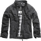 BRANDIT CASUAL MENS YELLOWSTONE JACKET LONG SLEEVE BIKER MOTORCYCLE COAT BLACK