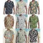NWT Margaritaville Men Rayon Short Sleeve BBQ Beach Button Front Tropical Shirt