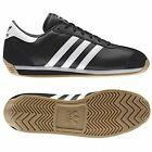 ADIDAS ORIGINALS COUNTRY II WOMENS TRAINERS BLACK UK SIZE 4 - 5.5