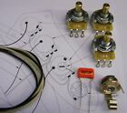 Upgrade Wiring Kit for Jazz Bass CTS Split or Solid Shaft Pots O/drop etc.