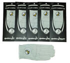 New 5 Pack 100% Cabretta Leather Golden Eagle Golf Glove Right Hand Extra Large