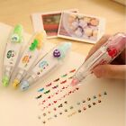 Creative Cute Stationery Cartoon Correction Tape Push Key Pen Sign Scrapbooking