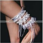 1pc Bride's Wedding Party lace Garters Satin Bowknot Ruffle