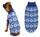 Dog Jumper Blue XS M Xl- Chihuahua Pug Pet  SweaterClothes Puppy Knitted Coat