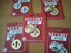 Polished Brass Chrome Aluminium Victorian Georgian Door Escutcheon