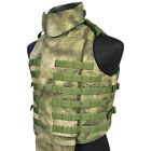 Flyye Outer Tactical MOLLE Vest Military Range Combat Webbing A-TACS FG Camo