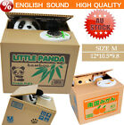 Creative Cute Piggy Bank PANDA Cat Steal Money Coin Saving Box Pot Case Storage