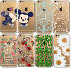 New Various Floral Pattern Hard Back Case Cover for iPhone 5 5C 6 6Plus 7 7Plus