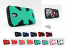 Alcatel One Touch Pop Astro 5042 Armor Hybrid Hard/Soft Skin Case Cover+PryTool