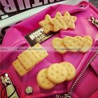 Harajuku Tokyo Cute Kawaii Biscuit Cookie Hair Clips 4 Patterns