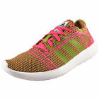 Adidas Womens Girls Element Refine Tricot Running Gym Trainers Pink *AUTHENTIC*