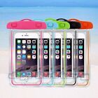 Waterproof Case Pouch Bag For iPhone 5 5S 6 + Snorkeling Kayaking Swimming Beach