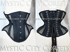 NEW MCC-38 MESH/COTTON UNDERBUST STEEL BONED CORSET WAIST TRAINING MYSTIC CITY