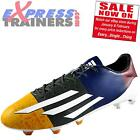 Adidas Mens F50 AdiZero FG Lionel Messi Pro Football Boots Multi *AUTHENTIC*