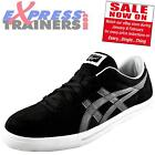 Onitsuka Tiger Mens Aaron Casual Classic Retro Trainers Black *AUTHENTIC*