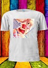 Japanese Manga Sexy Girl Shy Anime T-shirt Vest Tank Top Men Women Unisex 221