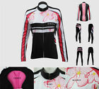 Women's fashion cycling jersey sports long sleeve leisure bike clothes pants
