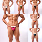 New Men's Top Sexy Thong Bikini Pouch Underwear T-back G-String Briefs Shorts