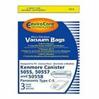Kyпить Sears Kenmore Type C Canister Vacuum Bags 5055, 50557 and 50558 By EnviroCare на еВаy.соm