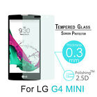 Premium Real Tempered Clear Glass Screen Protector Film For LG G4c G4 Mini