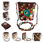 National Style Charms Coconut Shell Bead Women Cross Bady Beach Shoulder Bags Z