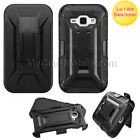 Samsung Galaxy J1 J100 Case - Hybrid Shell Hard+Skin Combo Holster Clip Cover