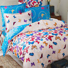New Butterfly Print Double/Queen Size Bed Quilt/Doona/Duvet Cover Set New Cotton