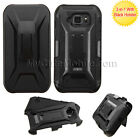 Samsung Galaxy S6 Active G890 Case - Hybrid Armor Hard+Skin Combo Holster Cover